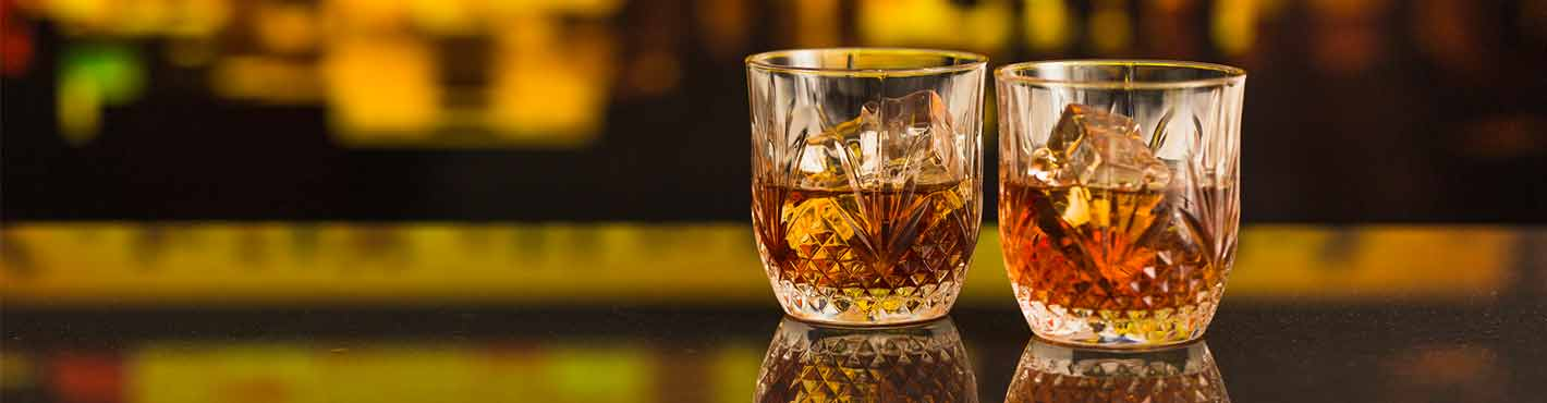 whisky-on-the-rock-bourbon