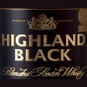 Whisky Highland Black – Aldi